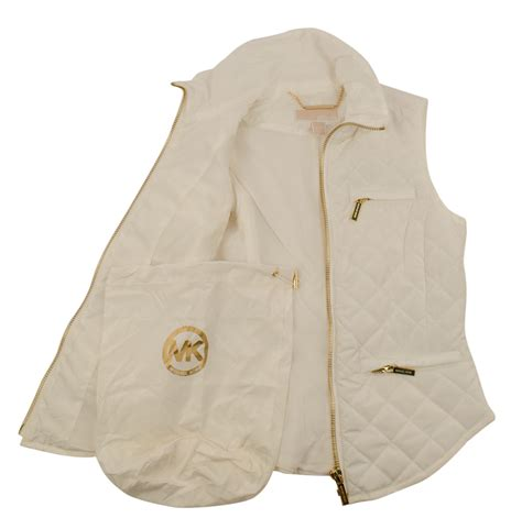 S Quilted Puffer Vest by Michael Michael Kors S Quilted Packable Puffer Vest