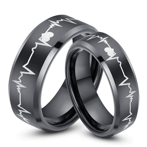 best unique matching wedding bands his and hers cool