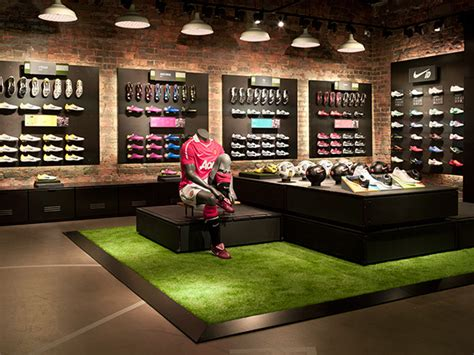 sporting shoes stores nike retail design on interior design served