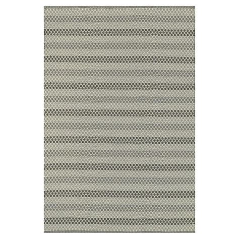 Outdoor Rug 5x7 Palapa Coastal Steel Grey Black Stripe Outdoor Rug 5x7 6 Kathy Kuo Home