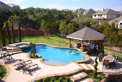 beautiful backyards with pools large and beautiful