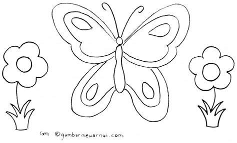 tutorial gambar hewan untuk anak gambar mewarnai kupu kupu adara 1 pinterest 20