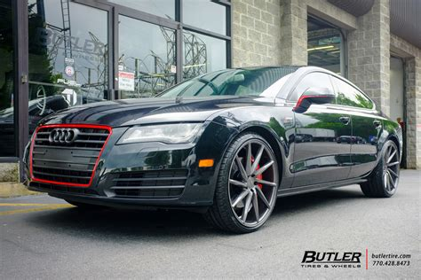 Audi A7 Wheels by Audi A7 With 22in Vossen Cvt Wheels Exclusively From