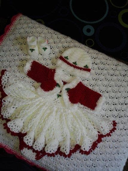 Blazer Illiana Set crochet baby layette with bolero jacket shoes and hat baby layette