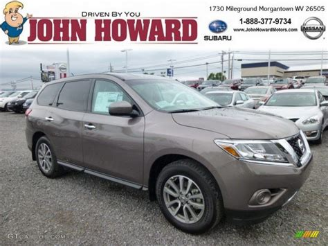 2014 mocha nissan pathfinder s awd 84404358 gtcarlot car color galleries