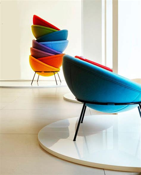 Colorful Armchair Colorful Chairs Archives Digsdigs