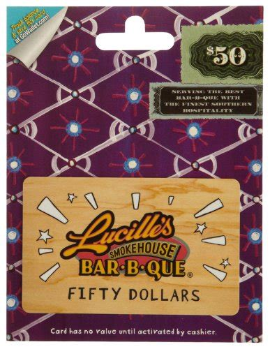 Lucille S Gift Card - lucille s smokehouse bar b q gift card 50 home garden kitchen dining tableware