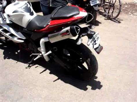 Muffler Termignoni For Yamaha Xabre Or R15 dual exhaust for yamaha r15 by performance racing exhaust