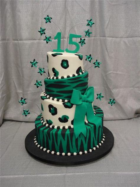 Heres A Sweet Cheetahlicious Cake For Newly Minted