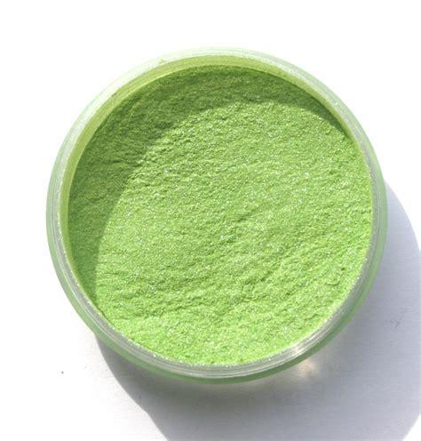 lime green mica powder 5g beading fantastic