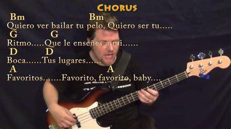 despacito bass despacito luis fonsi justin bieber bass guitar cover