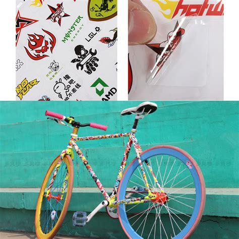 Fahrrad Aufkleber L Sen bike fahrrad radsport aufkleber decals sticker skateboard