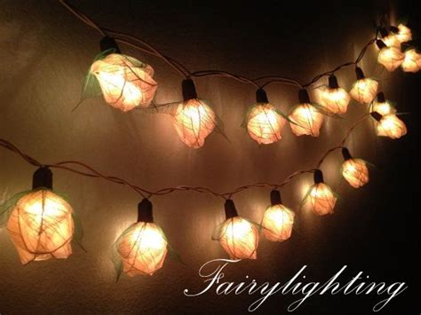 white string lights for bedroom fairy string lights 35 white color rose party floral