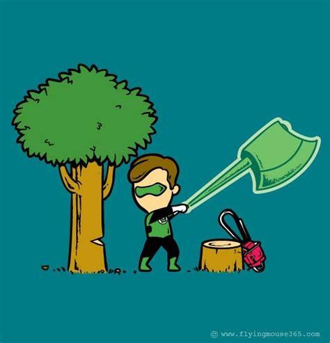 part time jobs  superheroes illustration series part