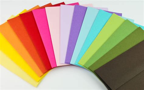 colored envelopes personalized stationery printing in graphic ideals