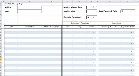 50 learn about irs mileage log book template document ideas