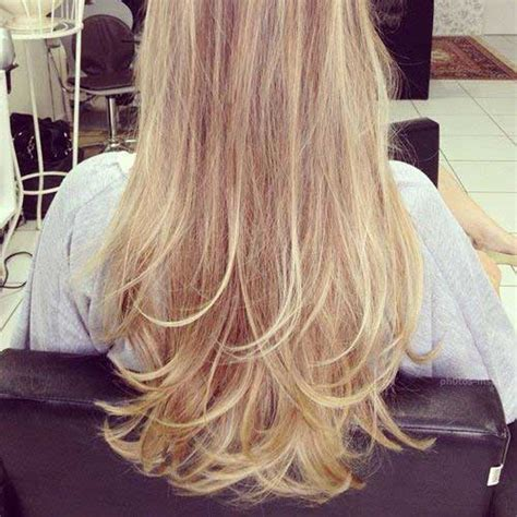 images of blonde layered haircuts from the back 10 long layered hair back view hairstyles haircuts