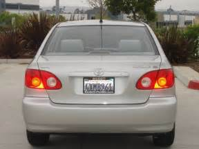 Toyota Contact Information 2003 Toyota Corolla San Diego Ca Used Cars For Sale