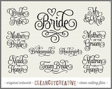 Free Wedding Fonts Uk by The 25 Best Wedding Silhouette Ideas On Free