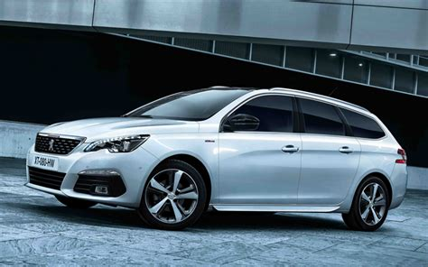 peugeot 408 wagon wallpapers peugeot 308 sw 2018 white wagon