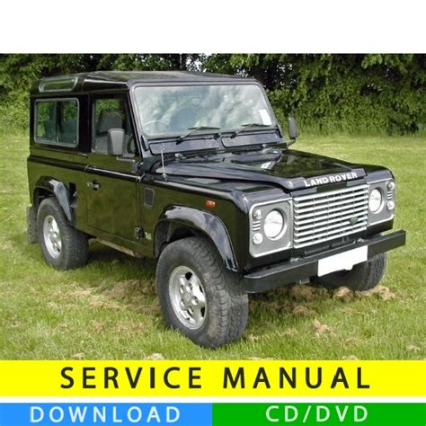 automotive repair manual 1990 land rover range rover security system land rover 90 110 service manual 1984 1990 en tecnicman com
