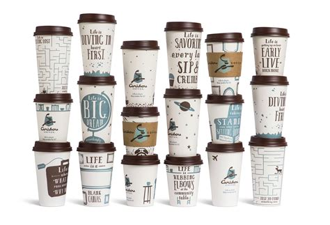 Caribou Coffee is stay awake for it graphis