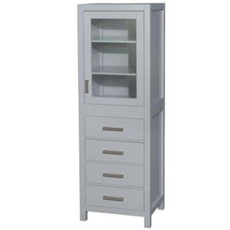 wyndham collection april linen tower rotating floor wyndham collection sheffield 24 in w x 20 in d x 71 25