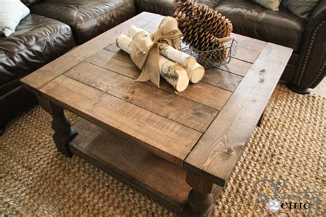 End Tables At Big Lots Diy Square Coffee Table Shanty 2 Chic