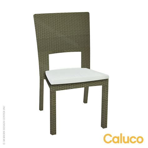 10 chair dining set 10 tierra stackable dining side chair set of caluco patio furniture modernoutlet