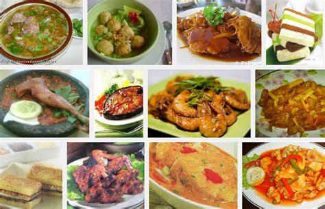 aneka resep masakan daerah mudah enak dan lezat 10 aneka resep menu masakan rumahan sederhana indonesia