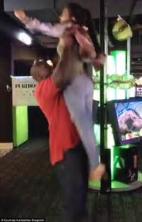 Hit The Floor Dirty Boyz - kourtney kardashian throws on after hitting the gym