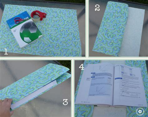 How To Make A Book Out Of Construction Paper - diy paper book cover onecreativemommy