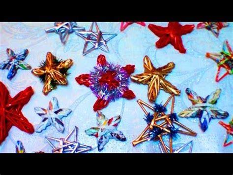 maestra tejedora elena como tejer los adornos navidenos de papel reciclado parte