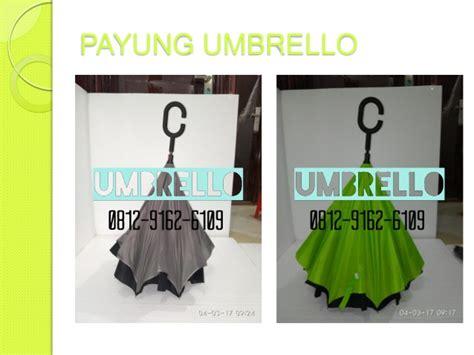 Payung Terbalik Lazada 0812 9162 6109 umbrello cetak logo payung terbalik