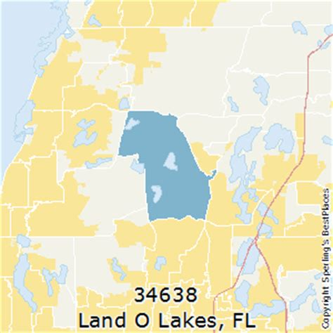 land of lakes florida map best places to live in land o lakes zip 34638 florida