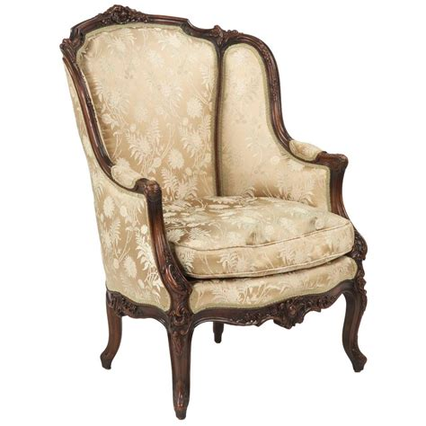 bergere armchair 19th century rococo revival antique bergere armchair in