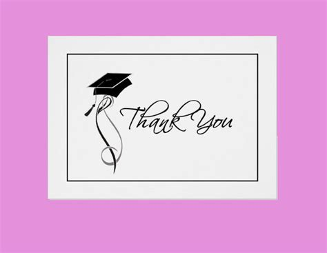 thank you card template graduation 11 graduation thank you cards design trends premium