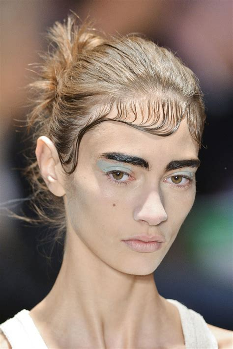 matted hair slicked matted hair the top 5 trends from fashion
