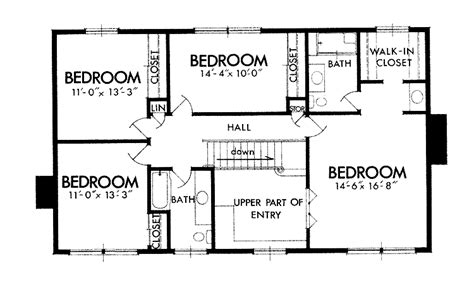 Modern Four Bedroom House Plans 4 Bedroom Modern House Plans Pdf Memsaheb Net