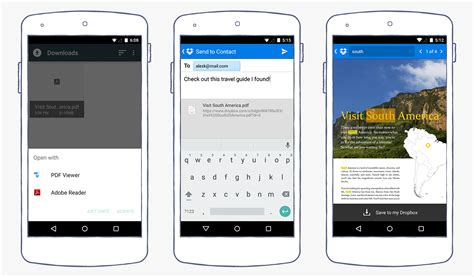 dropbox android new on android pdf viewer and in document search dropbox