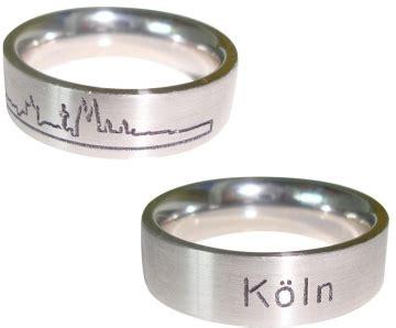 Trauringe K Ln by Edler Ring Mit K 246 Ln Gravur