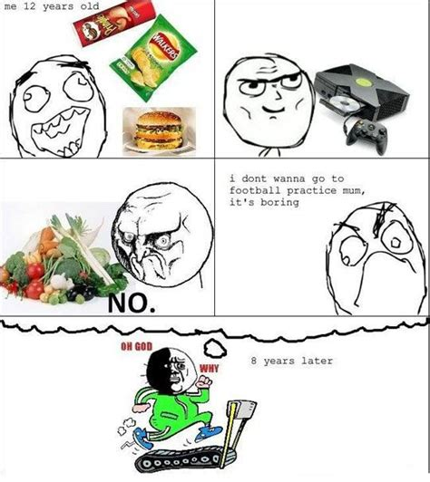 Really Funny Meme Comics - the effects of delicious junk food funny meme rage comic
