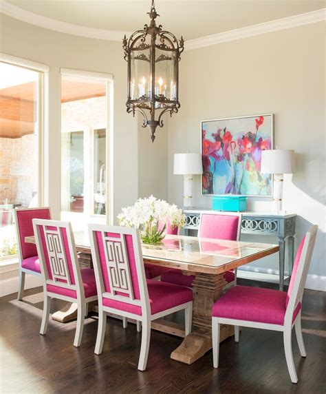 Pink Dining Room Chairs Betterdecoratingbible Page 20 Of 168 Home Interior Design Interior Decorating Tips Ideas