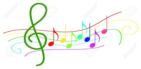 clipart note musicali colorful notes clipart clipartxtras