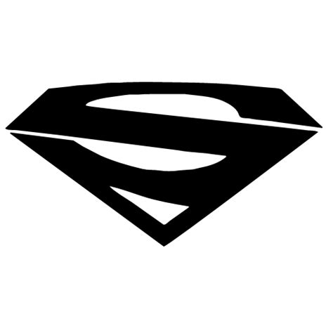 superman logo tattoo black and white superman symbol font clipart best