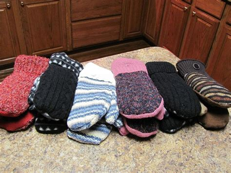 pattern gloves youtube make mittens from old sweaters fast and easy youtube