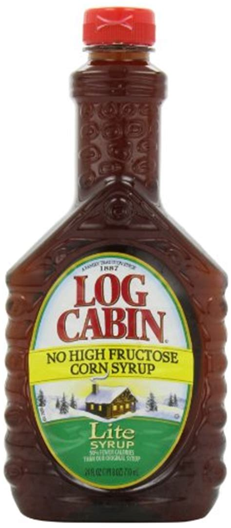 log cabin lite syrup  ounce pack   food beverages tobacco food items cooking baking