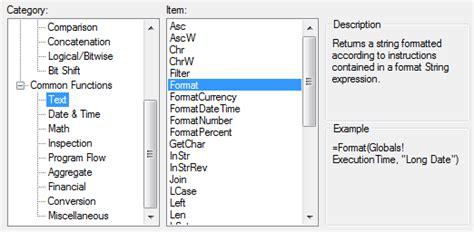 format date report builder joel lipman com