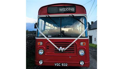 Wedding Cars Usk by Classic Single Deck Wedding Available For Hire In