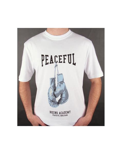 Tshirt Peaceful Hooligan peaceful hooligan gloves t shirt white peaceful hooligan
